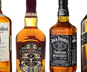 Seleção de Whiskies Velhos